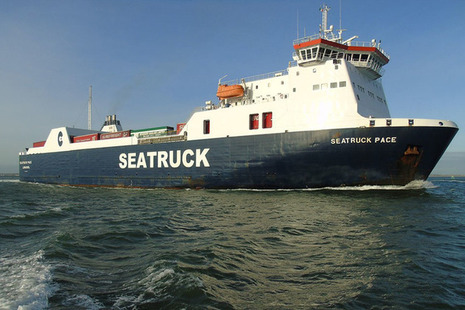The ro-ro freight vessel Seatruck Pace (photo: Seatruck Ltd)