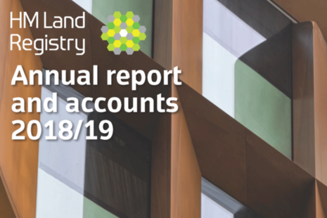 HM Land Registry annual report and accounts 2018/19