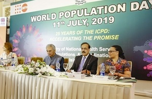 The UK is committed to support Pakistan's plan to manage population growth