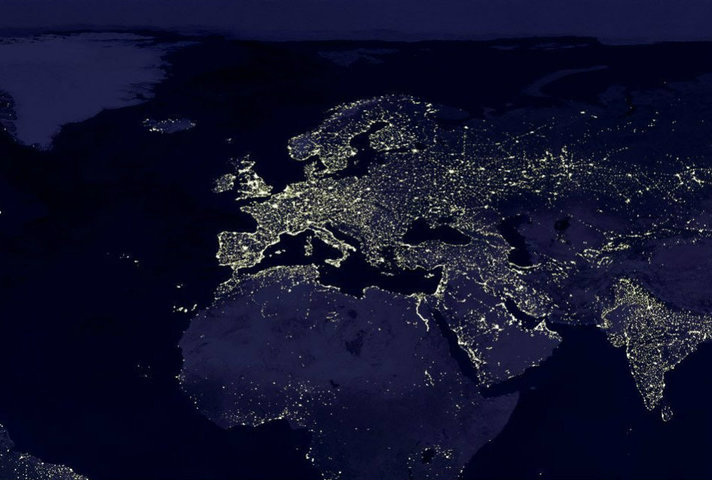 Lights over Europe