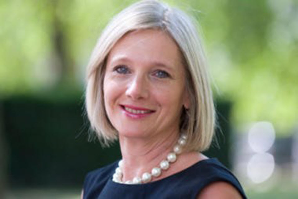 Photograph: Charity Commission Chief Executive, Helen Stephenson CBE.