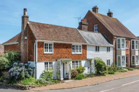 Cottages in Winchelsea, Sussex