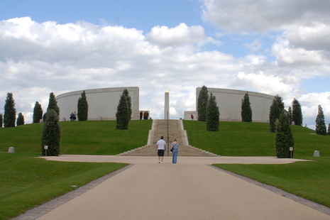 The Armed Forces Memorial at the National Memorial Arboretum