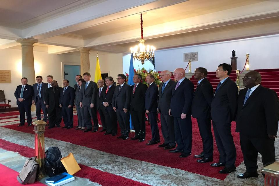 Security Council visit to Colombia