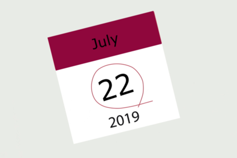 Image showing 22 July 2019 - the date the reconsideration mechanism was established in the Parole Board