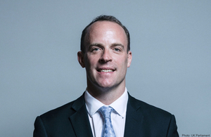 Dominic Raab appointed as new Foreign Secretary