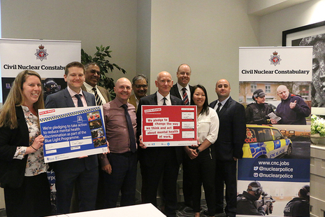 Chief Constable signs Blue Light pledge