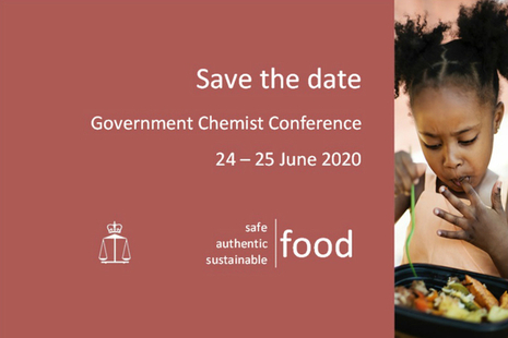 child eating food, government chemist conference announcement for 24 to 25 june 2020