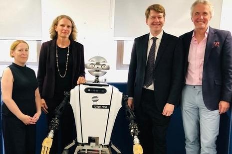 Robin Walker visits the Heriot-Watt University robotics facilities