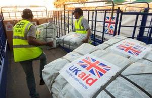 Delivering humanitarian aid