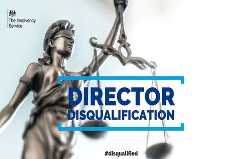 Directorship disqualification