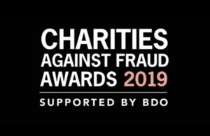Logo for Charity Fraud Awards 2019.