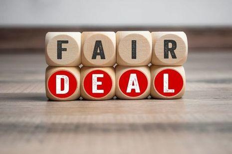 Dice spelling fair deal