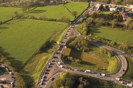 A27 Crossbush interchange