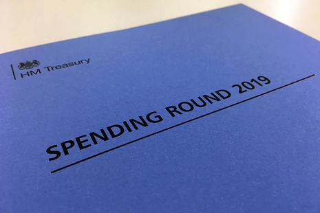 Spending Round 2019 document cover