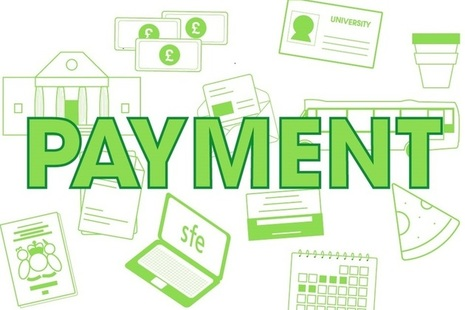 Graphic featuring the word payment