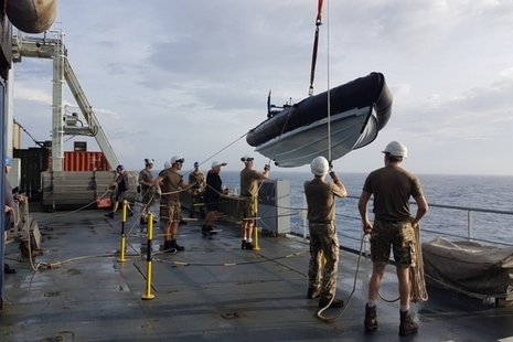 RFA Mounts Bay has delivered essential aid to residents of Great Abaco in The Bahamas.