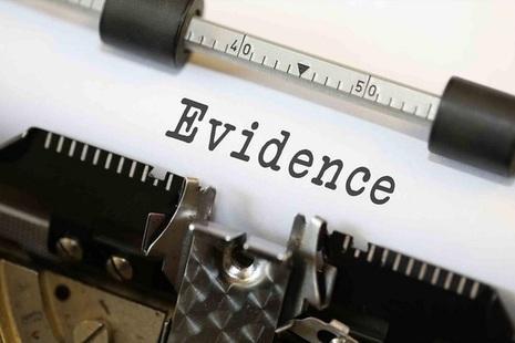 Typewriter: evidence