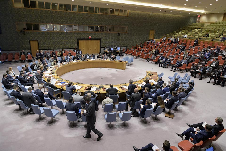 UN Security Council briefing on peacekeeping (UN Photo)