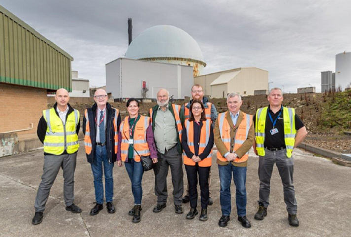 CoRWm members visting Dounreay