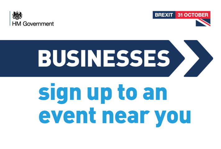 Brexit Business Readiness Events advert