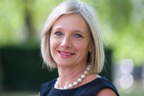 Photograph: Charity Commission CEO, Helen Stephenson CBE.