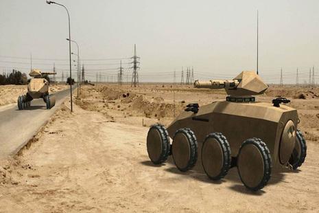 Futuristic ground vehicle