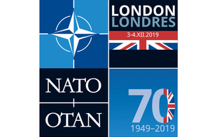 Logo for the London meeting of NATO Leaders unveiled