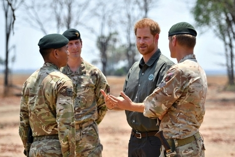 Duke of Sussex visits UK troops on counter-poaching operations in Malawi' within 'Ministry of Defence