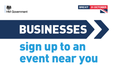 Sign up to events to help you get ready for Brexit