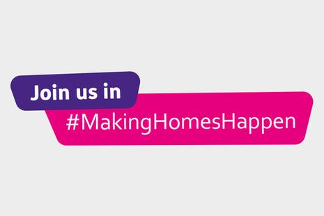 'Join us in #MakingHomesHappen' Banner