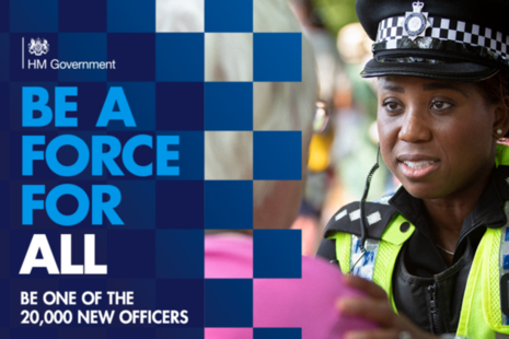 Be a Force For All: be one of the 20,000 new officers