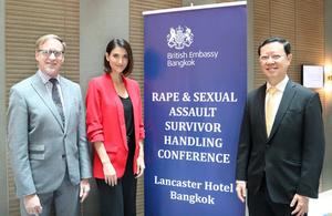 British Embassy Bangkok hosts a workshop on RSA to Thai partners