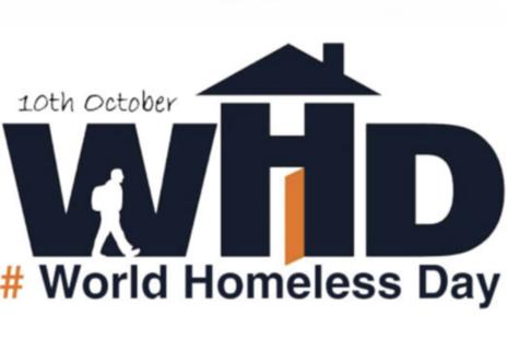 Logo of World Homeless Day 2019
