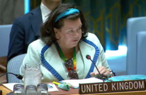 Amb. Karen Pierce at the UN Security Council