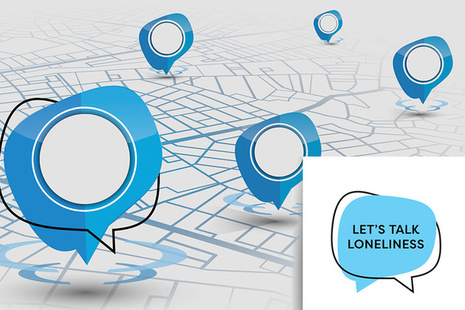 Lets Talk Loneliness graphic