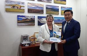 Minister Wheeler visits Mongolia