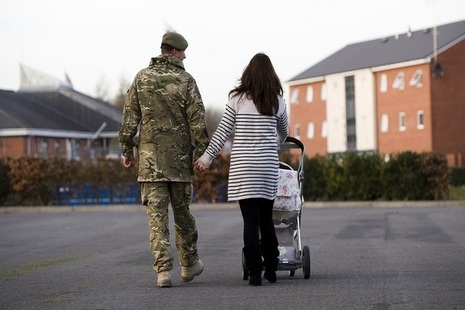 The Forces Help to Buy scheme has been extended for a further three years. Image: Crown Copyright.