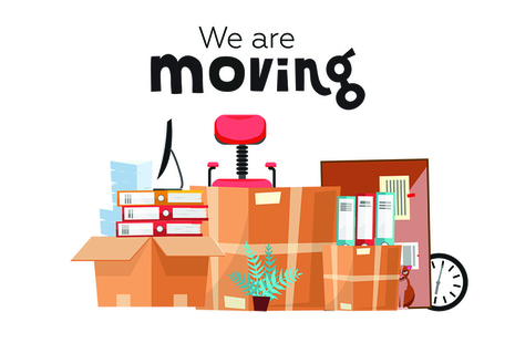 We are moving office