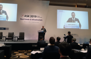 Nik Mehta, DHM British Embassy Seoul, spoke at the ASK Global Summit on Real Estate & Infrastructure, hosted by the Korea Economic Daily