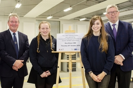 Opening of Oxfordshire Advanced Skills apprenticeship centre