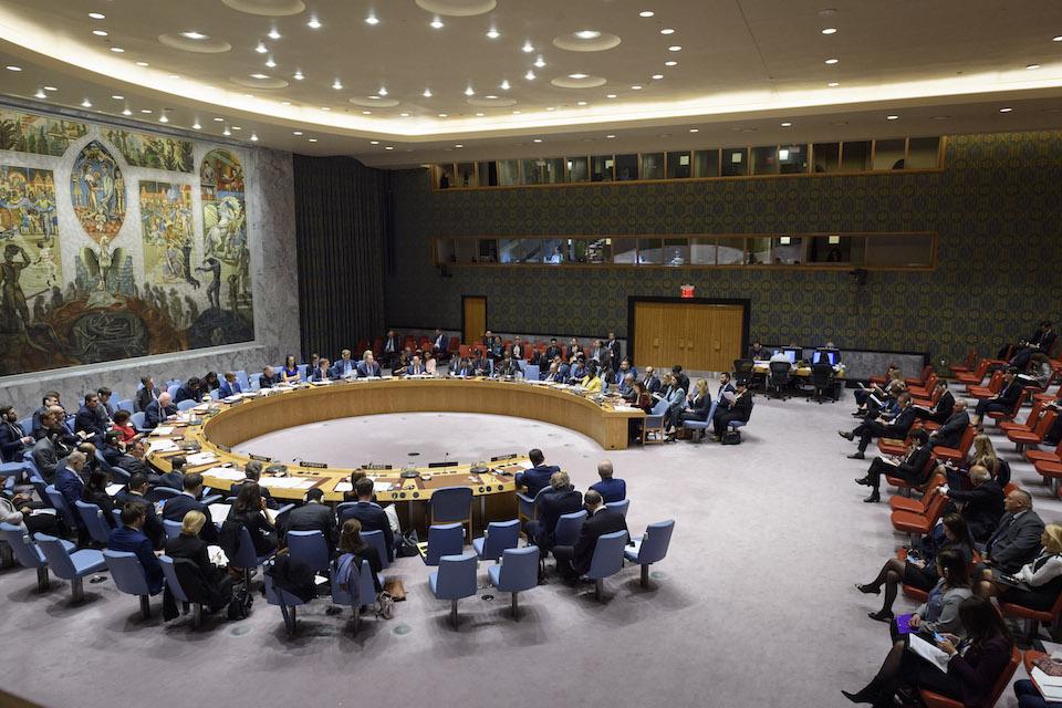 UN Security Council briefing on UNMIK (UN Photo)