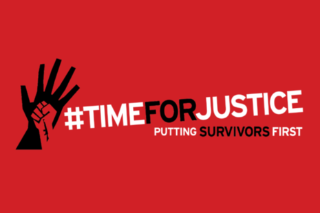 Time for justice: putting survivors first