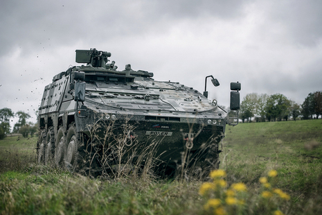 Boxer armoured vehicle