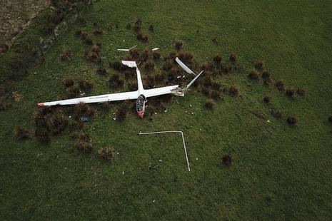 Rolladen-Schneider LS7 glider (G-CFMY)