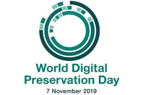 The logo of World Digital Preservation Day
