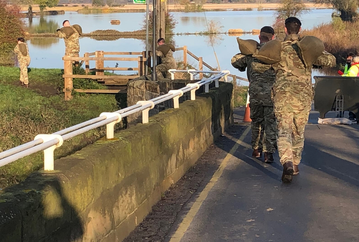 Two hundred UK Armed Forces personnel have deployed this morning to South Yorkshire to support flood relief efforts.