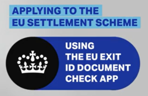 Using the EU Exit ID Document Check app