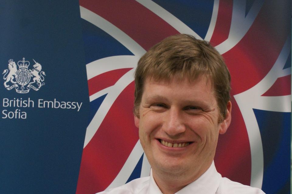 British Ambassador Jonathan Allen