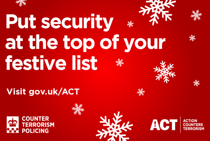 Put security at the top of your festive list